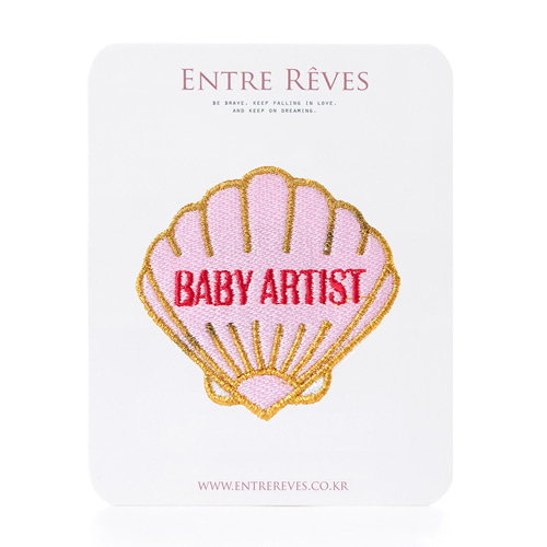 PEARL BABY ARTIST PATCH
