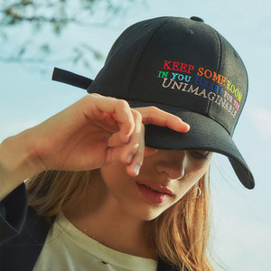 KEEP SOME ROOM BLACK - BALL CAP