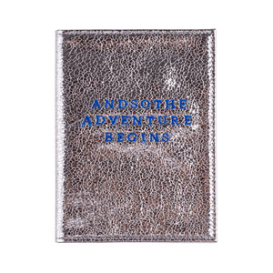 ADVENTURE BEGINS PASSPORT COVER