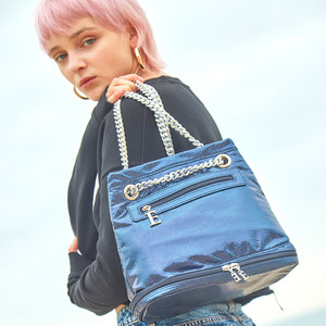 THE DREAM CHAIN BAG - NAVY