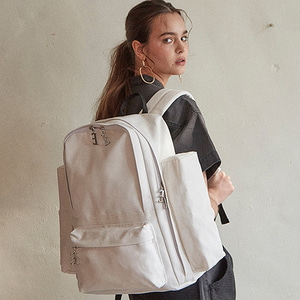 THE BLANK BACKPACK - WHITE