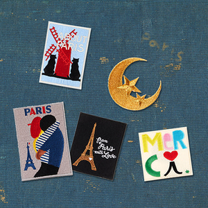 I LOVE PARIS PATCH SET